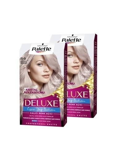Palette Palette Deluxe Kristal Koleksiyonu 2'li 119 Kuvars si SaÇ Boyası Renksiz